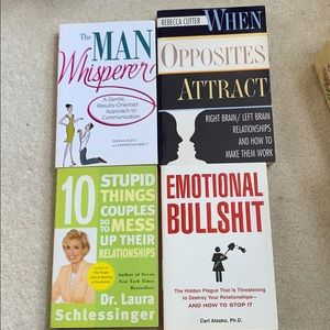 5 Relationship help books.